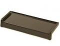 Parapet gięty z blachy stalowej powlekanej Brąz 8019 gr. 0.75 mm