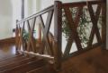 Balustrady drewniane dla schodów