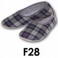 Pantofle domowe męskie F28