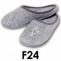 Pantofle domowe z filcu F24