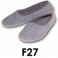Pantofle damskie codzienne filcowe F27