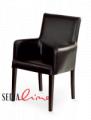 Krzesło z podłokietnikiem Gino