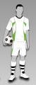 Komplety strojów dla piłkarzy