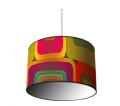 Lampa z filcu