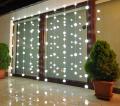 Lampka dekoracyjno - ogrodowa LED 2/13/DEK z matowymi plastikowymi kulkami