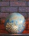 Ceramiczny lampion ogrodowy