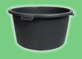 Kubły czarne plastikowe budowlane 90 litrów