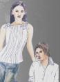 Tkaniny bluzkowe  do produkcji odzieży damskiej