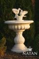 Małe fontanny ogrodowe TORINO Z GOŁĄBKAMI P004