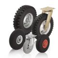 Колеса и колесные пары с протектором