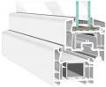 Solidna, pięciokomorowa konstrukcja okienna PCW Efectline