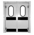 Drzwi chłodnicze wahadłowe, zawiasowe Kingspan DSH1, DSH2