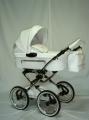 Stylowy i niezwykle komfortowy wózek głęboki na szprychowych kołach