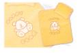 Pościel do wózka dziecięcego ozdobiona haftowaną vaplikacją
