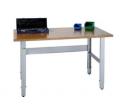 Stoły warsztatowe o lekkiej konstrukcji do zastosowania przy lżejszych pracach montażowych, przy kompletacji, pakowaniu itp.