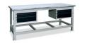 Wysokiej nośności stoły warsztatowe znajdujące zastosowanie w zakładach przy ciężkich pracach produkcyjnych, Strrong Line Promag