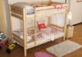 Łóżka piętrowe drewniane