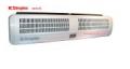 Kurtyna powietrzna zapewniająca  wielokierunkowy i silny strumień powietrza