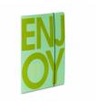 Teczka z gumką kolekcja Enjoy-It Zielono-miętowa