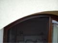 Moskitiera łukowa orzech