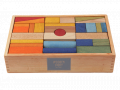 Klocki drewniane XL