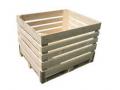 Skrzyniopalety drewniane do przechowywania warzyw i owoców