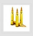 5,56x45 nabój małokalibrowy karabinowy z rdzeniem ołowianym