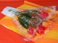 Opakowania do kwiatów foliowe w kształcie kielicha