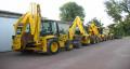 Koparko - ładowarki: New Holland, JCB, Case, CAT, Komatsu,Terex, Volvo
