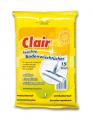 Clair 15 chusteczki do czyszczenia podłóg o wysoko wydajnym czyszczeniu