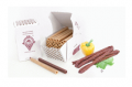 Osłonki kolagenowe FABIOS idealne  dla kiełbasek spożywanych wraz z osłonką.
