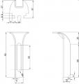 Standardowe chwyty do mocowania krat pomostowych
