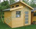 Domki narzędziowe drewniane