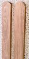 Sztachety drewniane wykonane z drewna olchowego