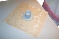 Serwetka z kolekcji Decor  40x40w kolorze ecru