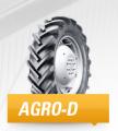 Opony do ciągników dostosowane do różnorakiego rodzaju podłoża Agro-D