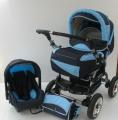 Wózki dziecięce z możliwością regulacji twardości amortyzatorów dolnych