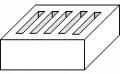 Bloczek betonowy murowy
