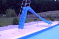 Zjeżdżalnia basenowa ślizg do basenu ślizgawka producent