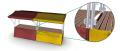 Stragany handlowe o konstrukcji pozwalającej na modułowe łączenia