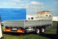 Rzyczepy samochodowe o DMC powyżej 3,5 tony    z hamulacami pneumatycznymi
