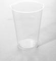 Kufel do piwa z polipropylenu 400 ml przeźroczysty o średnicy 95 mm