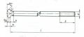 Śruby fundamentowe ocynkowane galwanicznie, ogniowo lub metodą termodyfuzji, śruby młoteczkowe podsadzane