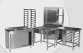 Meble ze stali nierdzewnej do wyposażenia ciągów technologicznych kuchni, pomieszczeń gastronomicznych w hotelach , restauracjach, barach, kawiarniach, stołówkach