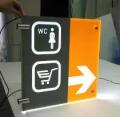 Świetlne panele informacyjne i reklamowe