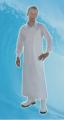Fartuch gładki Dydona biały, niebieski