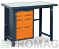 Stół warsztatowy Expert Line typu TSS01PCV/G
