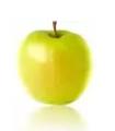 Jabłka Golden Delicious, średniej wielkości, lekko kwaskowe