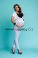 Legginsy ciążowe długie AVRILE marki INFATTI. Dostępne w rozmiarach: S, M, L, XL, XXL, XXXL, 9 kolorów