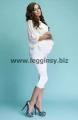 Legginsy ciążowe 3/4 YVES marki INFATTI. Dostępne w rozmiarach: S, M, L, XL, XXL i w 9 kolorach